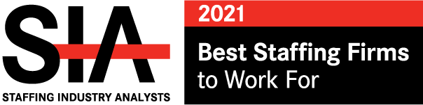 SIA Best Staffing Firms 2021